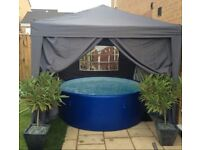Lay-Z-Spa Monaco Airjet 8 PERSON HOT TUB & Ground Mat+Chemicals+Filters FREE DELIVERY/SET-UP