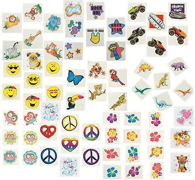 360 pc Tattoos Assortment Boy's & Girl's Party Favors Carnival Supplies Prizes - Carnival Supplies