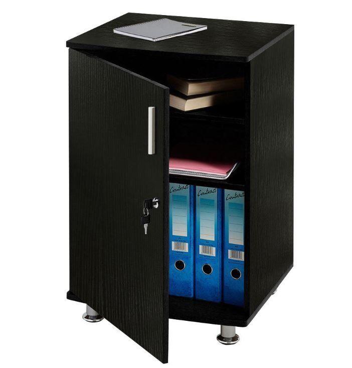Home Office Desk Extension Cupboard Lockable Furniture
