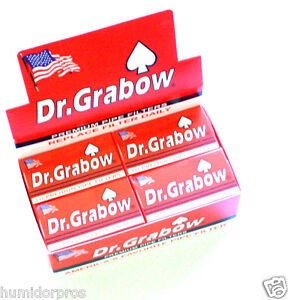 Dr. Dr Grabow Tobacco Pipe Filters 12 boxes of 10 ~ 120 Filters