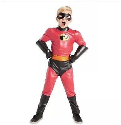 DISNEY STORE Incredibles 2 Dash COSTUME For Kids 5/6/7/8/9/10 Red Halloween](Disney Halloween Costumes For Kids)