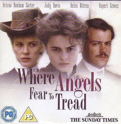 Where Angels Fear To Tread - DVD. segunda mano  Embacar hacia Mexico