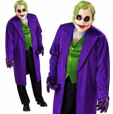 The Joker Girl Costume (Adult Mens Licensed THE JOKER Classic Fancy Dress Costume Batman Heath)