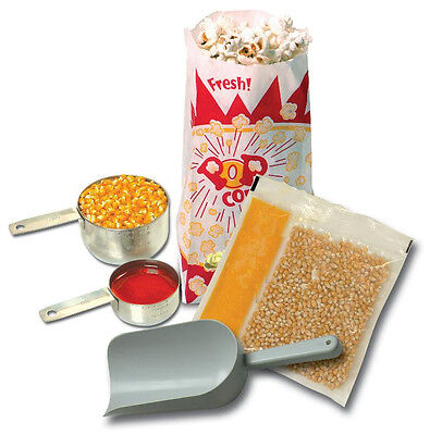 Popcorn Machine Supplies Starter Kit For 4 Oz Poppers