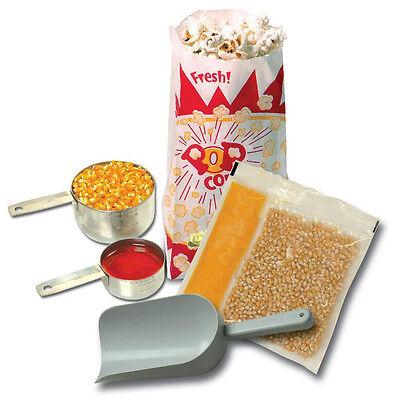 Popcorn Machine Supplies Starter Kit For 8 Oz Poppers