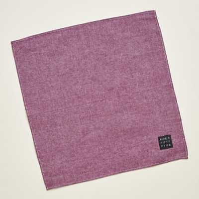 FOUR FIFTY FIVE POCKET SQUARE ● NICE POP OF TEXTURE & COLOR FOR SUMMER