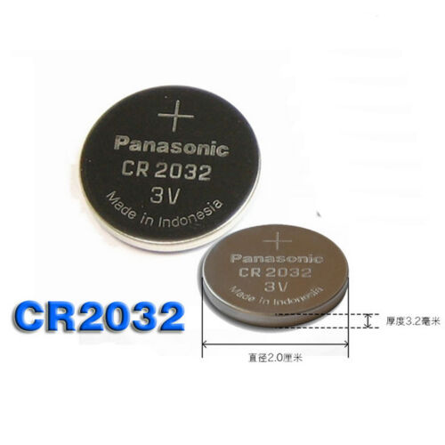 5X CR2032 Lithium Battery 3V Coin Cell Fit For Land Rover Smart Key