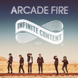 Arcade Fire Tickets 6th April, Dublin, 3 Arena