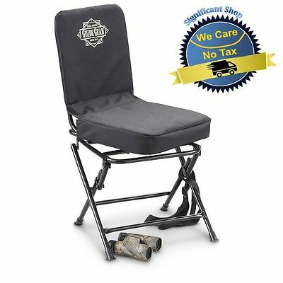 Portable Swivel Hunting Chair Folding Deer Stool Turkey Padded, NEW!