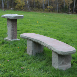 Stone Decor, Garden Stones, Benches, and More