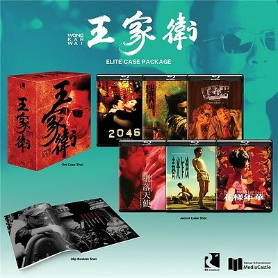 Kar-Wai Wong Collection Box Set (2016, Blu-ray) 6 movie included
