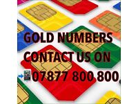 GOLD VIP MOBILE NUMBERS CHEAPEST UK