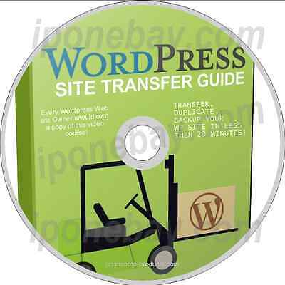 Transfer Or Duplicate Your Wordpress Site On To Another Domain   Cd Dvd