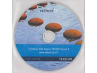 Pearson/Edexcel functional skills support CD-ROM version 2.