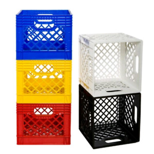 milk crates $5 each or 5/$20