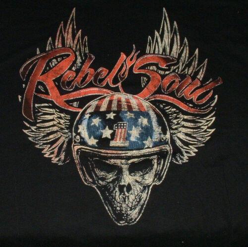 Kid Rock Rebel Soul T Shirt Tour 2013 XL Harley Davidson Motorcycle Biker