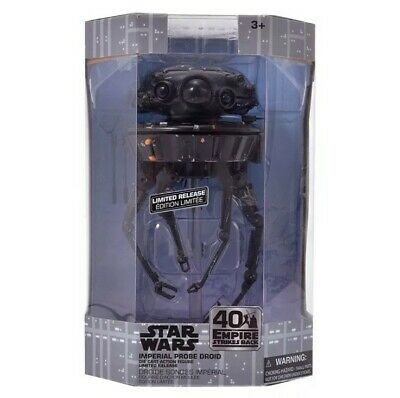 Star Wars Elite Series IMPERIAL PROBE DROID ESB Die-cast 40th Anniversary NEW