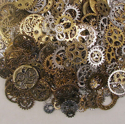 Ds 50G Watch Parts Steampunk Cyberpunnk Cogs Gears Diy Jewelry Si