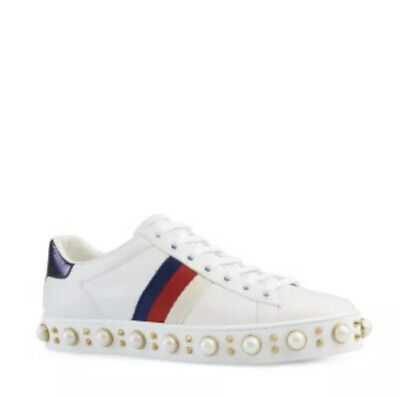 Gucci Ace Pearl Sneakers Size 6