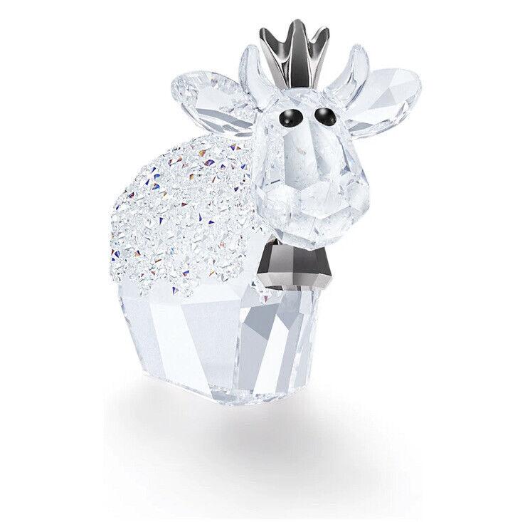 NIB Authentic Swarovski Birthday Princess Mo 2020 A.E. Crystal Figurine #5492750