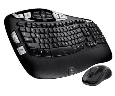 Wireless Laser Desktop Keyboard (Logitech Wave MK550 Desktop Wireless Multimedia Keyboard & Laser Mouse Kit)