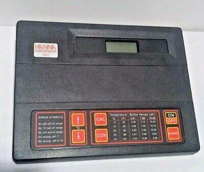 Hanna Instruments 8521 Microprocessor Phmv Meter Bench-top