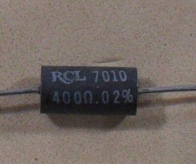 Ultra Precision Wire Wound Resistors - To 0.02 Tolerance - New Rcl