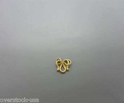NEW Authentic 24K Yellow Gold M Clasp / fix your necklace / 1.0g