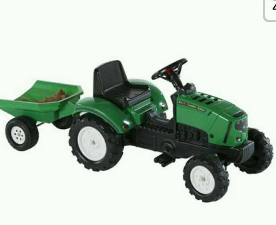 Brand new Ride on kids tractor and trailer (3-5yrs)