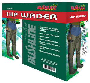 Bushline Hip Waders Size 8
