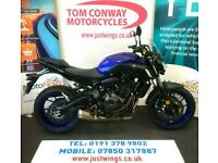 YAMAHA MT-07, 2019(19), ONLY 2,831 MILES, FSH, GREAT LITTLE MACHINE, £5595