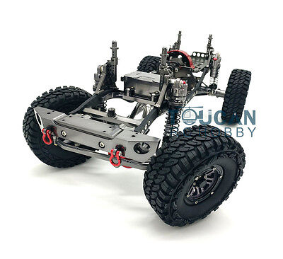 1/10 AXIAL SCX10 D90 CNC Rock Crawler RC Car Aluminium Alloy Frame Gray