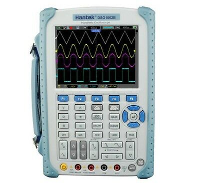 Hantek Dso1062b Handheld Digital Oscilloscope 2ch 60mhz 1gss Scope Multimeter
