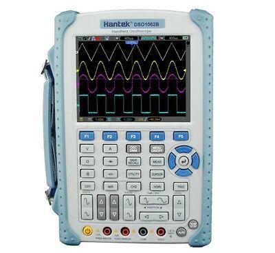 Hantek Dso1062b Handheld Digital Oscilloscope 2ch 60mhz 1gss Scope Multimeter