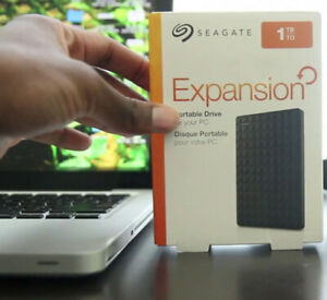 Seagate Expansion 1TB USB 3.0 Super Speed Portable Hard Drive