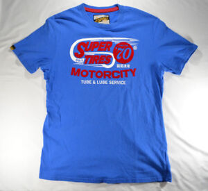 Superdry Tires Motorcity Tube and Lube Union 70 T-Shirt XXL