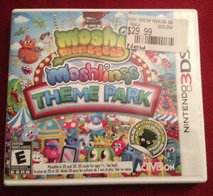 Moshi Monster theme park for 3DS