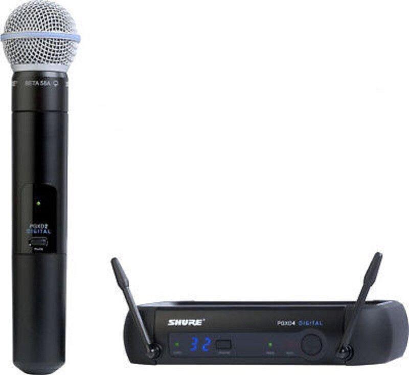 SHURE PGXD24-BETA58 Digital Wireless Handheld Vocal Mic Syst