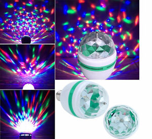 LED Full Colour Rotating Lamp