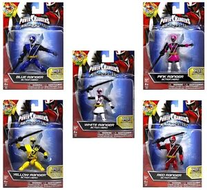 Power Rangers Ninja Steel Figures 5""