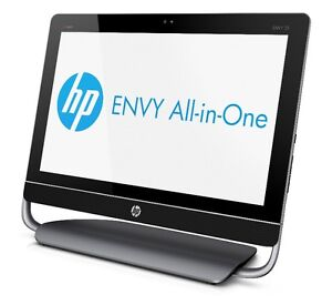 """HP ENVY 23"""" i7 Quad all-in-one cracked touchscreen 2g NO HDD"""