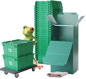 FROGBOX Moving boxes and supplies FREE delivery