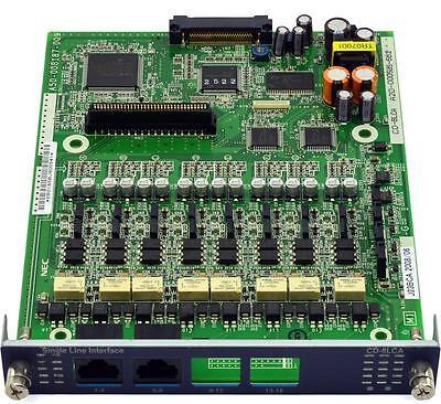 Refurbished NEC 670114 Univerge CD-8LCA 8 Port Analog Single-Line Interface Card 8-port Analog Line