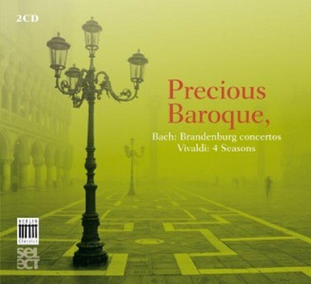 CASAZZA/MAGNIFICA COMUNITA/+ - PRECIOUS BAROQUE: BACH&VIVALDI 2 CD KLASSIK NEU