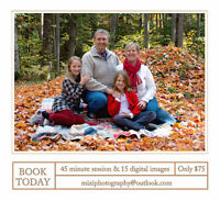 Fall Photo Sessions - Book Now!
