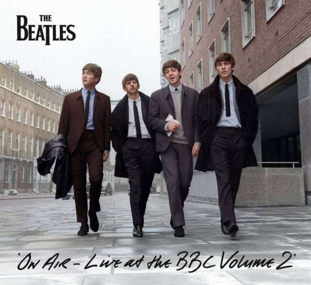 THE BEATLES On Air Live at the BBC Vol. 2 Vinyl 3LP 2013 Lennon + Postcard * NEW