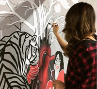 MURAL ARTIST available for custom projects