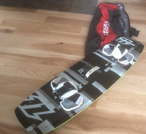 North Kiteboard  TeXTreme carbon 3D light