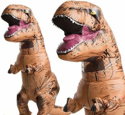 Adulti Gonfiabile Dinosauro T-Rex Costume Gonfiabile Uomo Vestito Nuovo