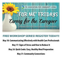 FREE WORKSHOP SERIES FOR CAREGIVERS